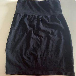 Talula ARITZIA Black Stretchy Bodycon Skirt